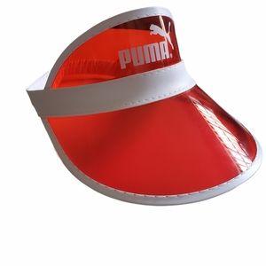 PUMA RED PVC VISOR
